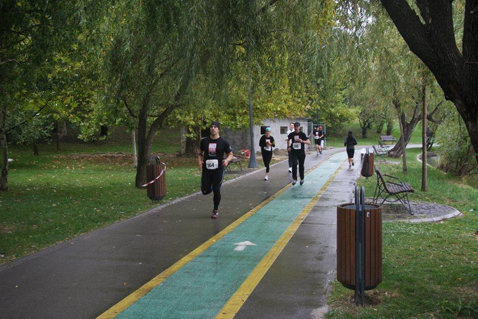 Run4Freedom - Emilian Nedelcu - pe traseu
