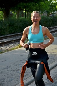 Antrenament triatlon femei