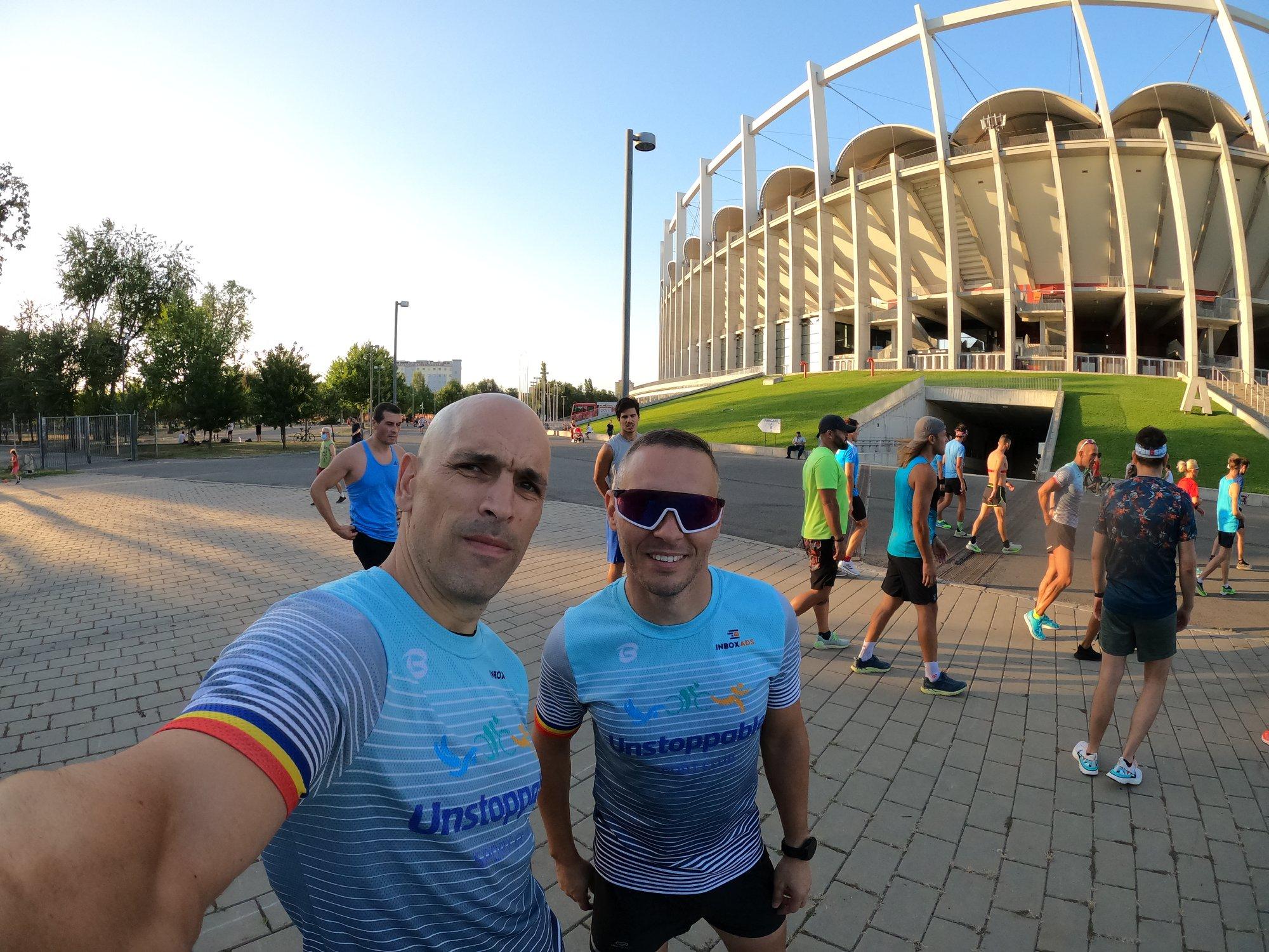 Laurentiu Vladan - antrenament alergare Arena Nationala