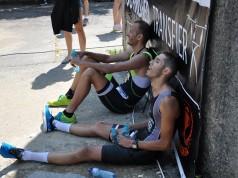 Epuizare la Transfier, cel mai greu concurs de triatlon din Romania
