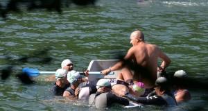 Brasov Triathlon - un om era cat pe ce sa se inece