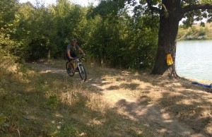 Antrenament mountain bike - padurea Cernica