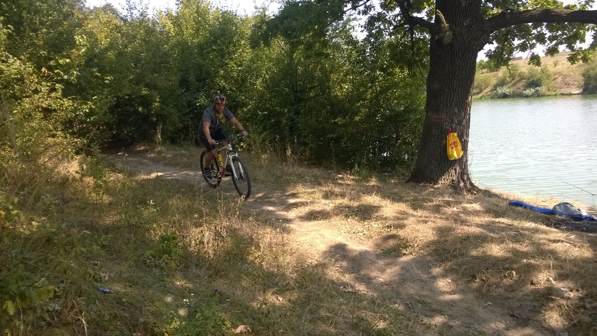 Antrenament mountain bike - padurea Cernica