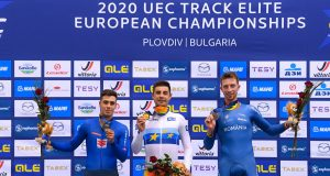 Daniel Crista - bronz Campionatul European Velodrom
