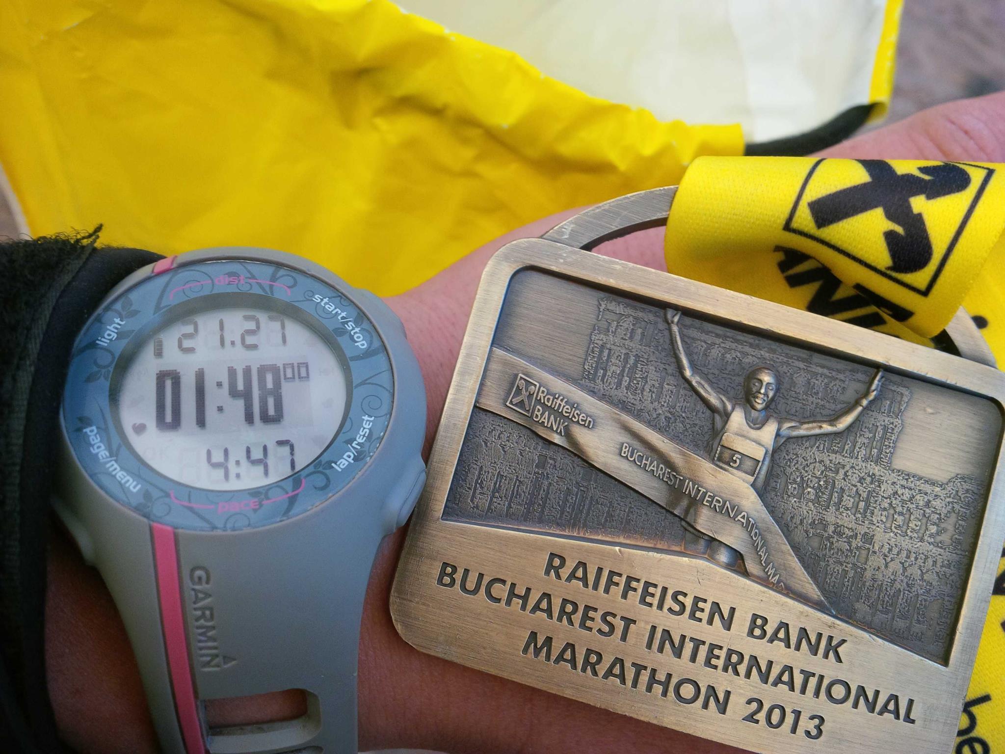 Medalie Semimaraton Bucuresti