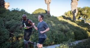 Mark Zuckerberg alearga