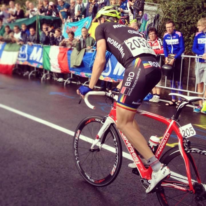 Andrei Nechita la campionatul mondial de ciclism 2013