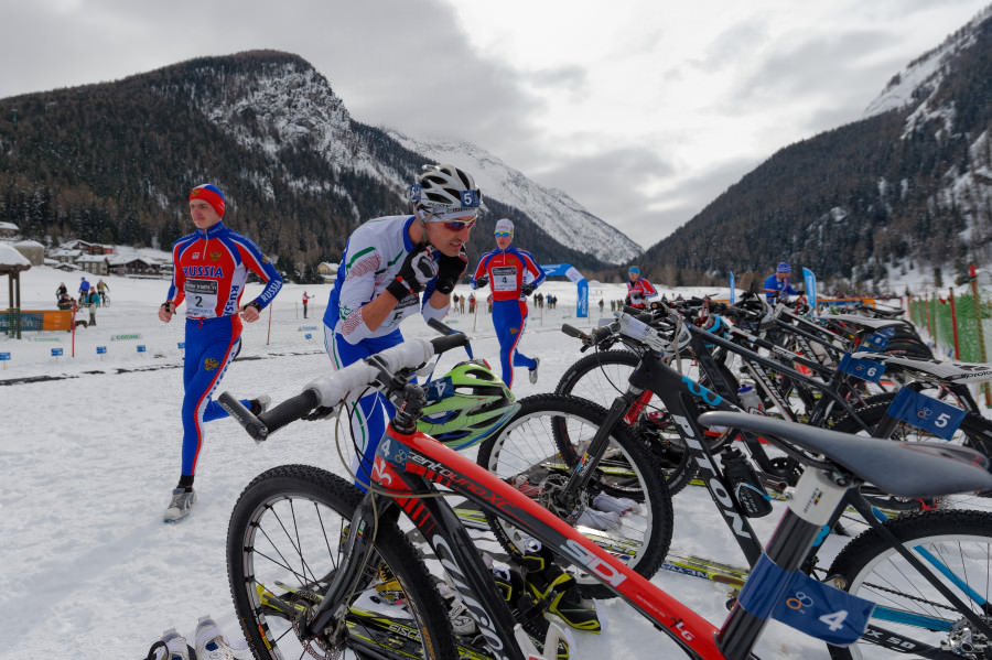 Campioantul Mondial de Winter Triathlon