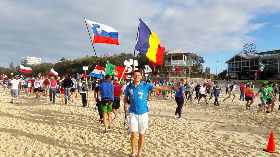Mihai Vigariu - tricolor Romania Ironman 70.3 Australia