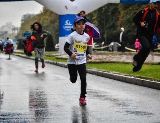 Cursa copiilor - maratonul Bucuresti - Natalia Nedelcu
