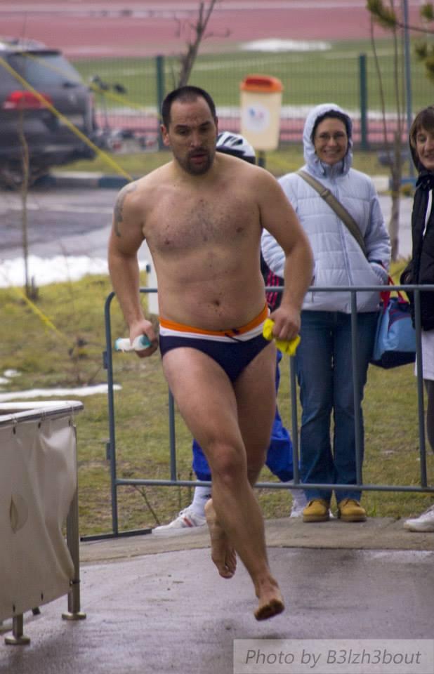 Emilian Nedelcu, triatlon WinterTri Challenge, baza Izvorani