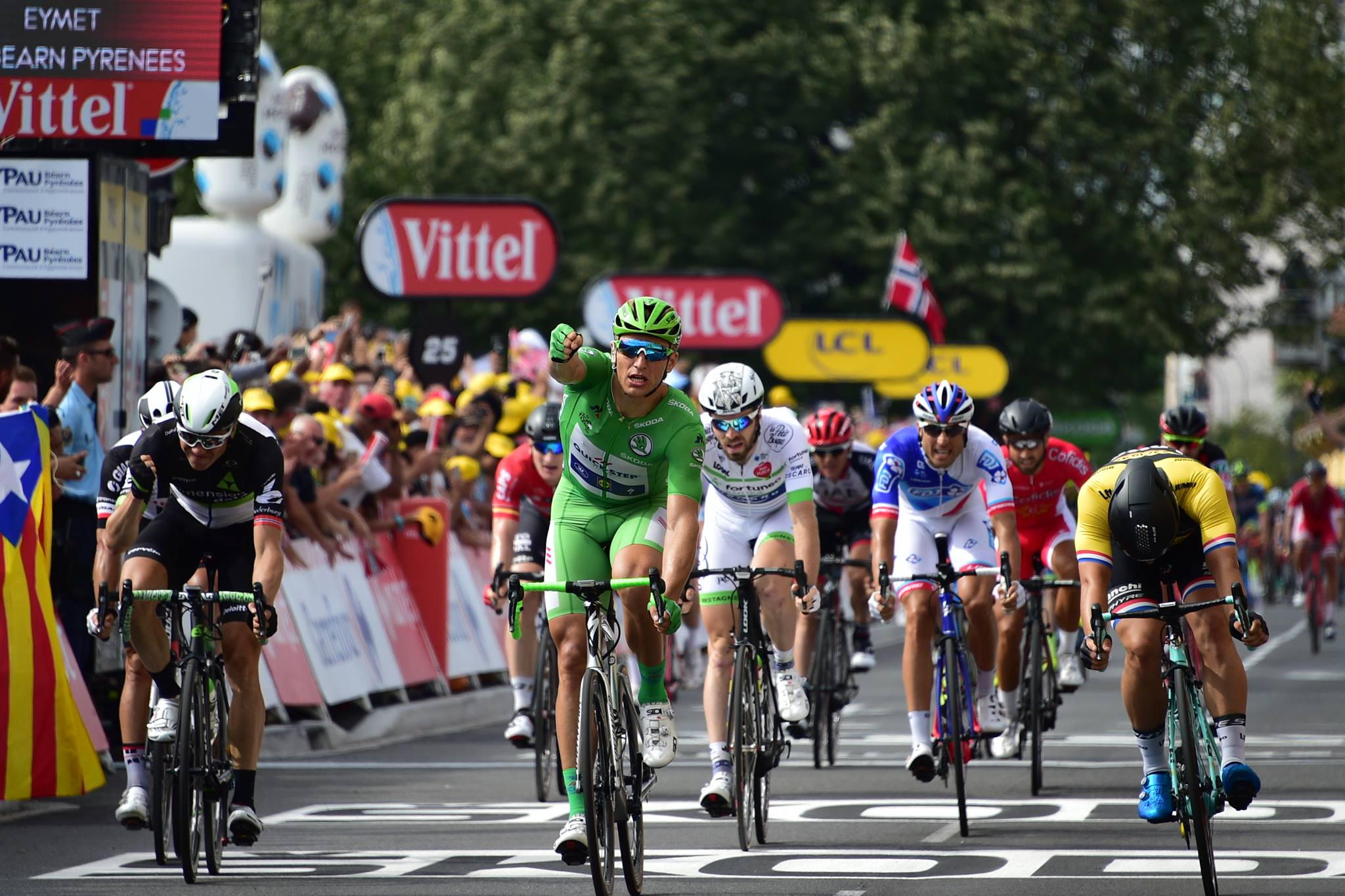 Marcel Kittel castiga etapa 11 din Turul Frantei