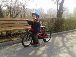 Micul biciclist, Vladutz - 2