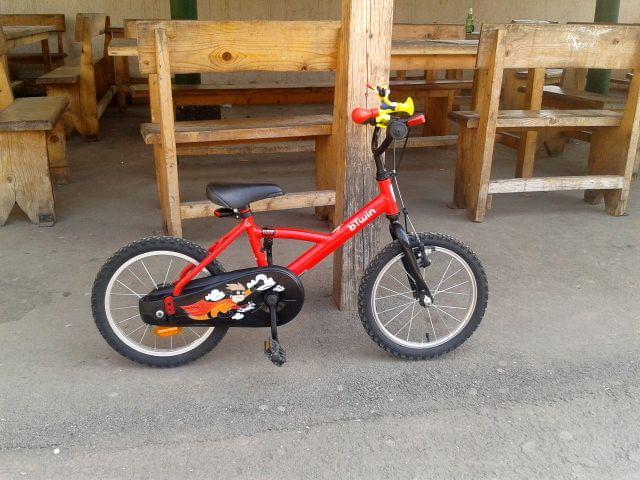Bicicleta copii Decathlon bTwin Hyper Hero