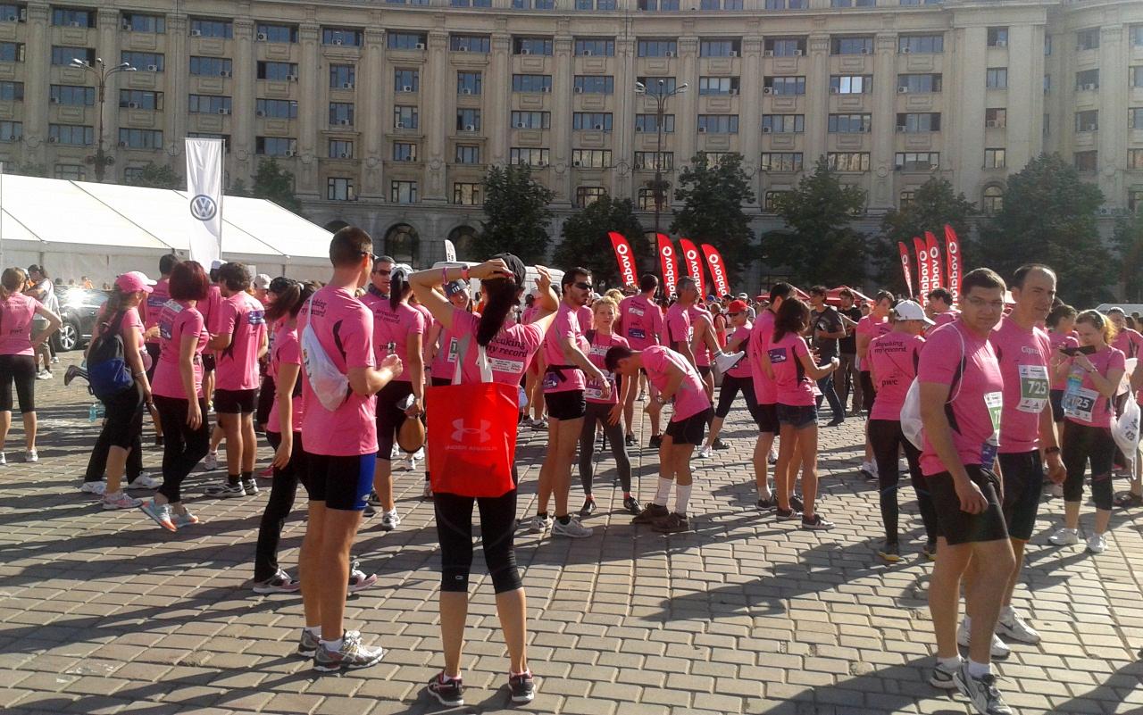 Semimaraton Bucuresti - breaking my own record