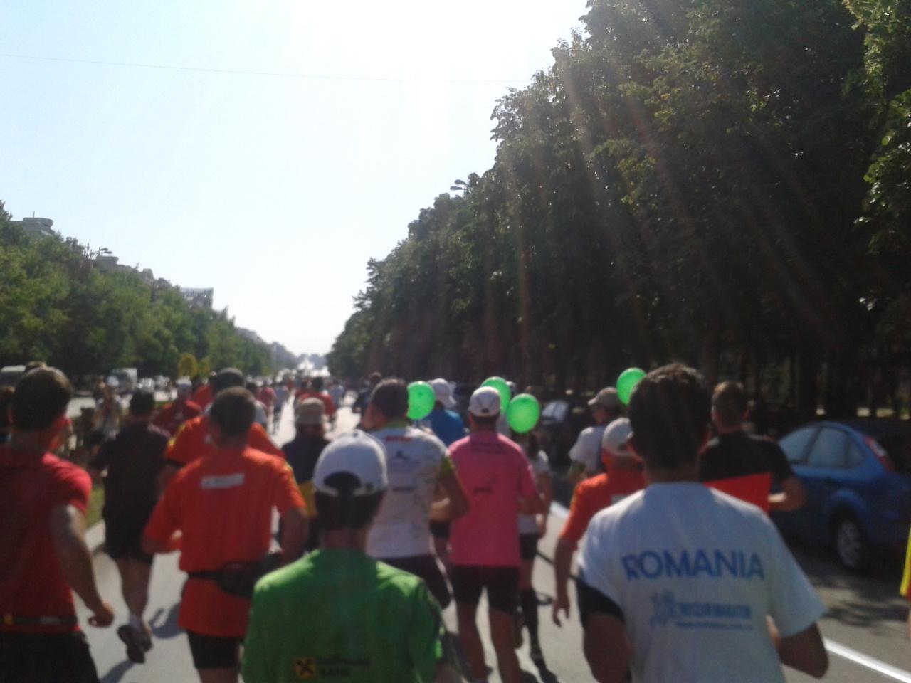 Semimaraton Bucuresti - start