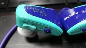 Sony Walkman W262 - detaliu