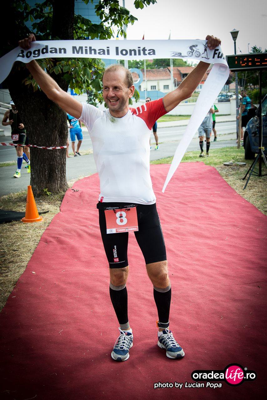 Bogdan Ioniţă, pe podium la Ironman Oradea.