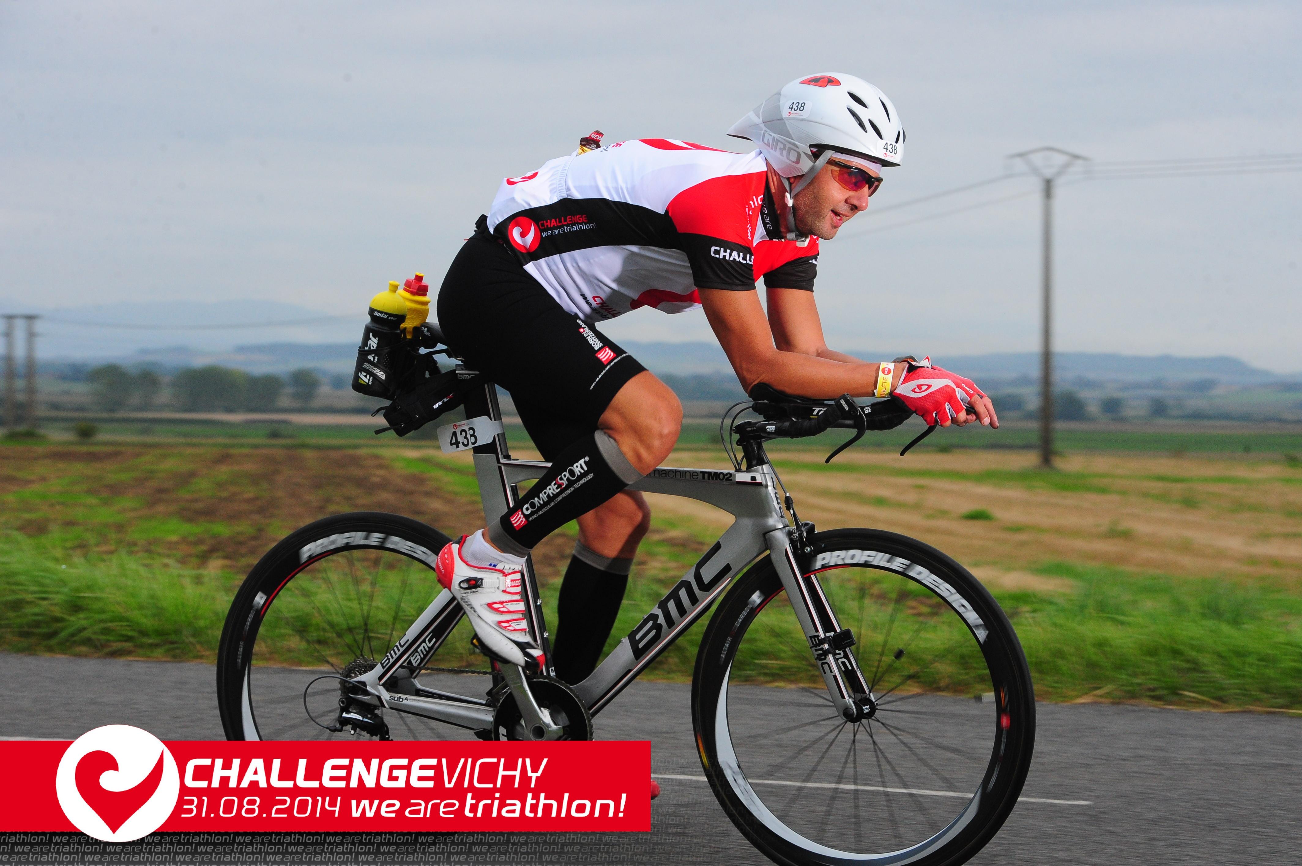 Bogdan Ioniţă, la Challenge Vichy, proba de ciclism