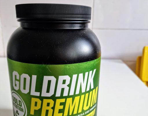 Goldrink Premium - bautura isotonica