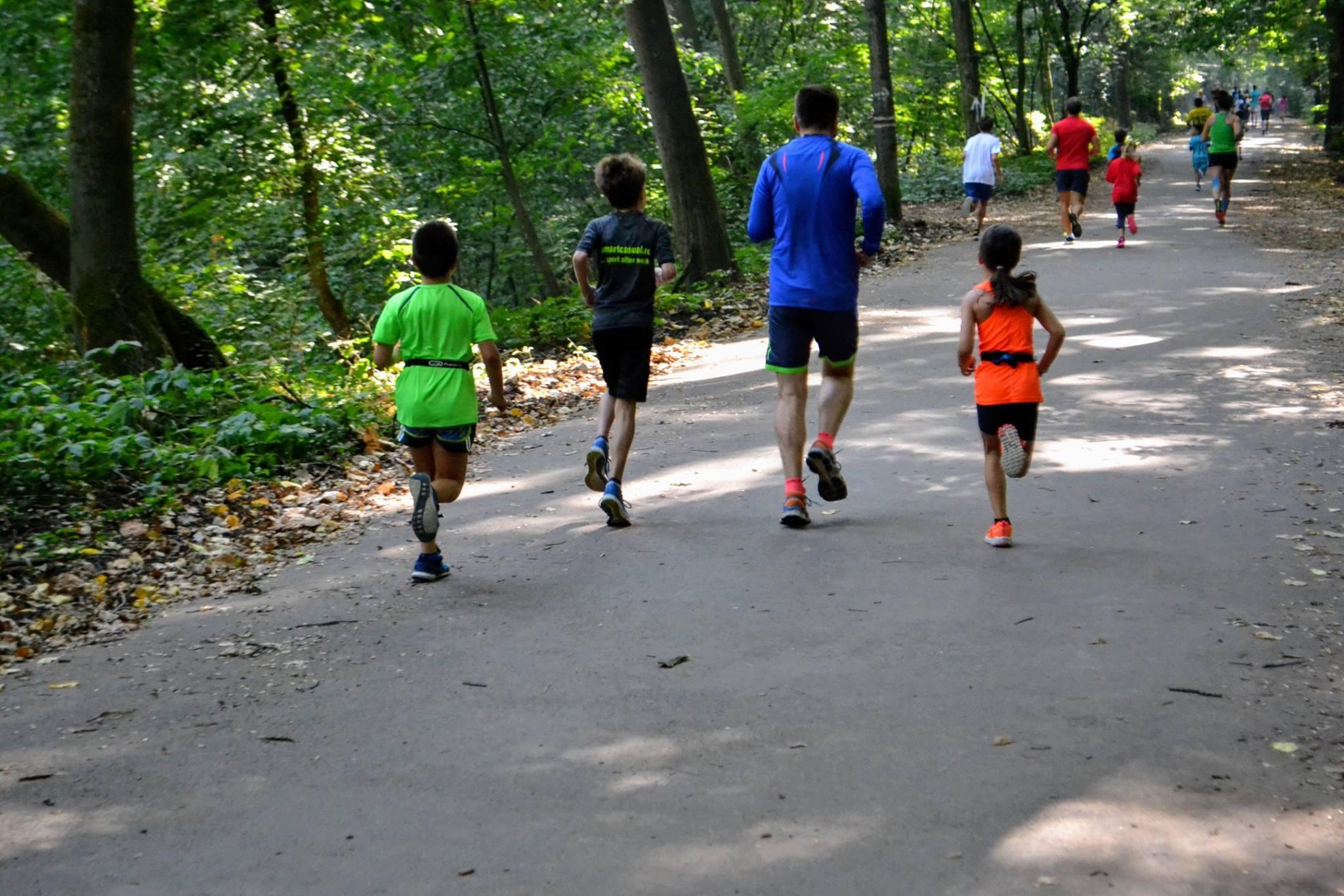 Natalia Nedelcu - alergare 5 km concurs Fox Trail