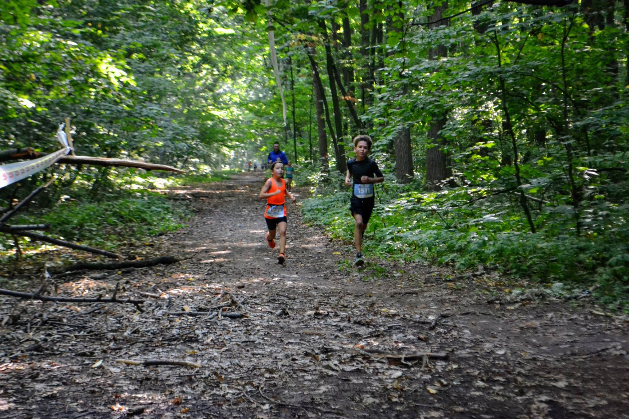 Natalia Nedelcu - cursa 5 km Fox Trail