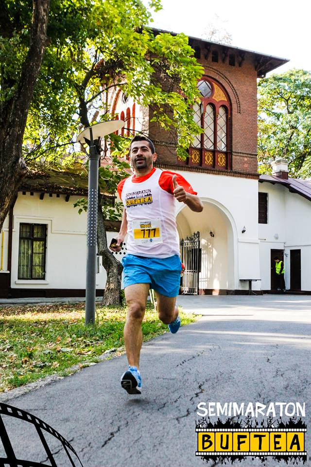 Ion Dumitraşcu - concurs Semimaraton Buftea 2017
