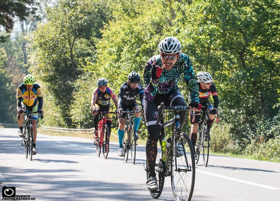 Boabă Bobescu la VeloPower Road Race 2017