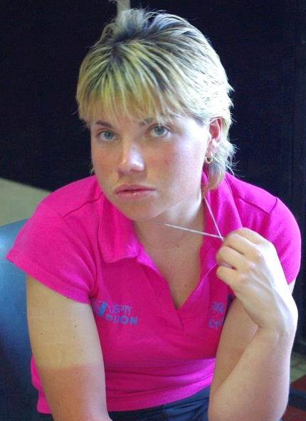 Joanne Duval - biciclista