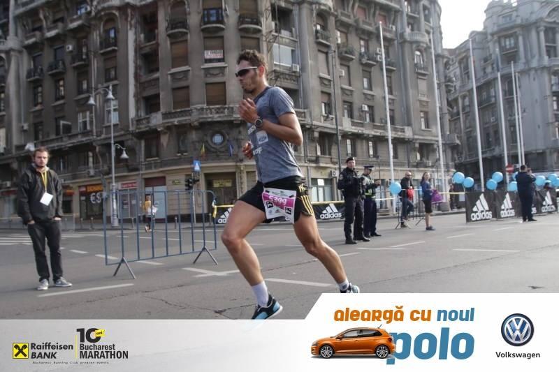 Alex Diaconu la proba de semimaraton 2017