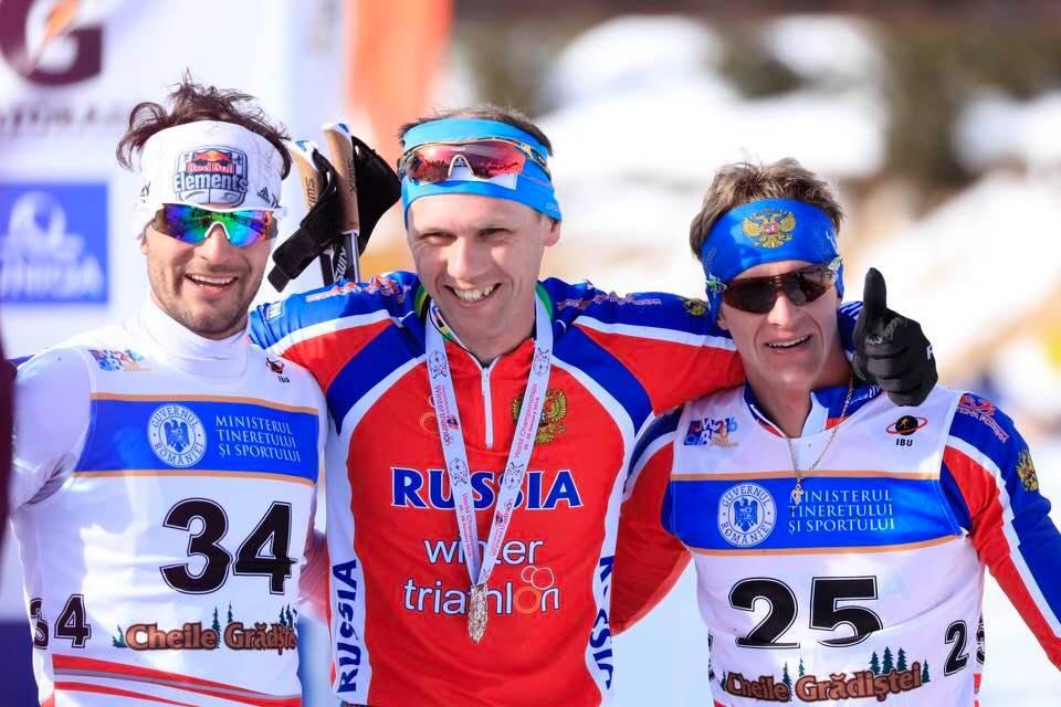 Podium Elite la Campionatul Mondial de Winter Triathlon