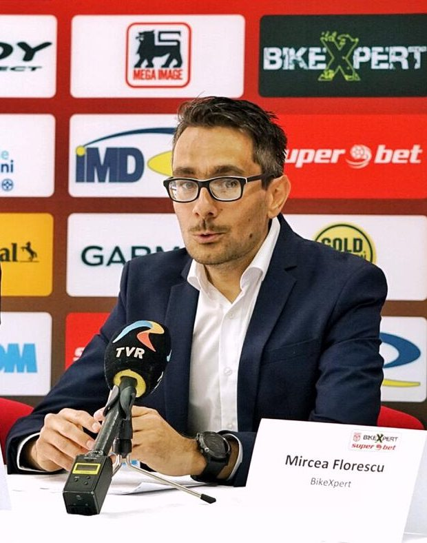 Catalin Spînceană - team manager Dinamo BikeXpert Superbet