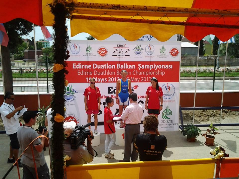 Campionat Balcanic de Duatlon - Jakab Benke Hajnalka