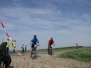 Prima Evadare 2012, Biciclistul.ro in timpul cursei 2