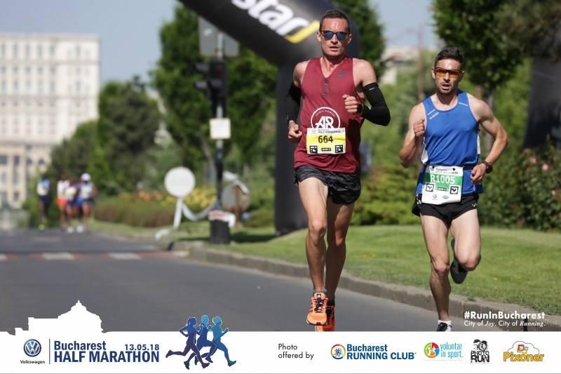 Alexandru Corneschi - Semimaratonul Bucureşti 2018 - cel mai bine clasat român