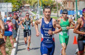 Felix Duchampt - triatlonist francez - Jocurile Olimpice pentru Romania