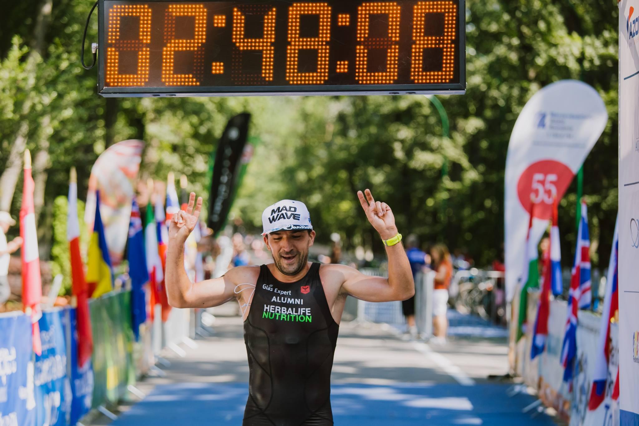 Ciprian Bălănescu - finish XTERRA România 2018