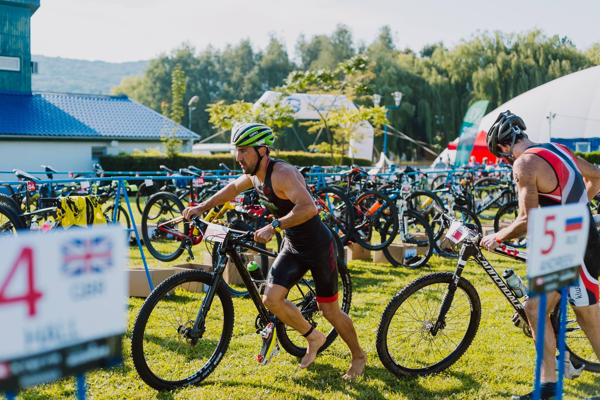 Ciprian Balanescu - start ciclism XTERRA România 2018