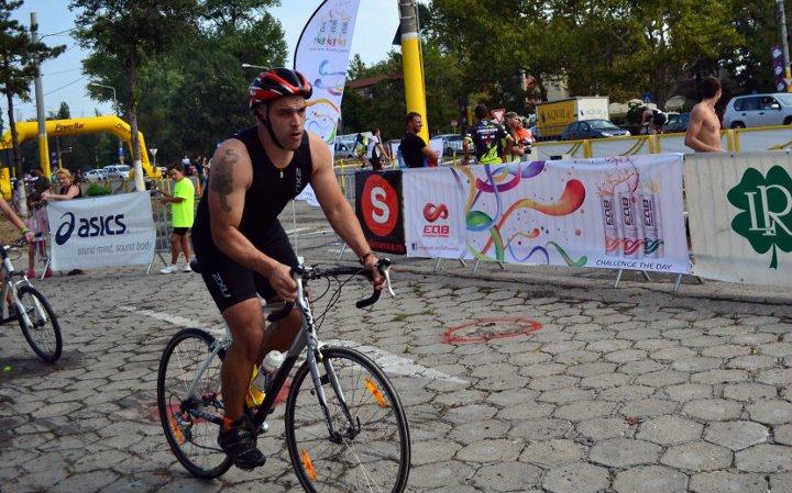 Emilian Nedelcu, editor Biciclistul.ro, tatuaj