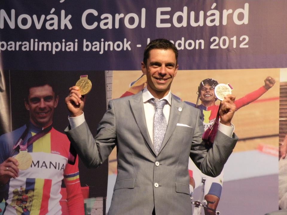 Eduard Novak, primire Miercurea Ciuc
