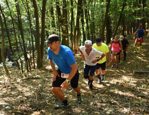Maratonul Olteniei 2018 - Emilian Nedelcu urcare