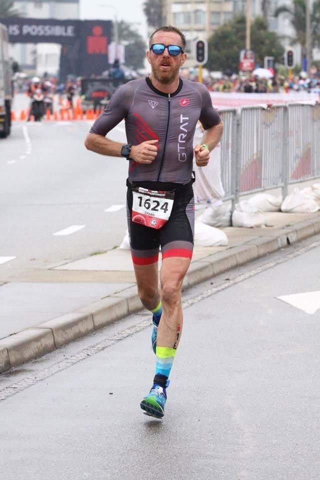 Ștefan Tudose - mondialul Ironman 70.3 proba de alergare