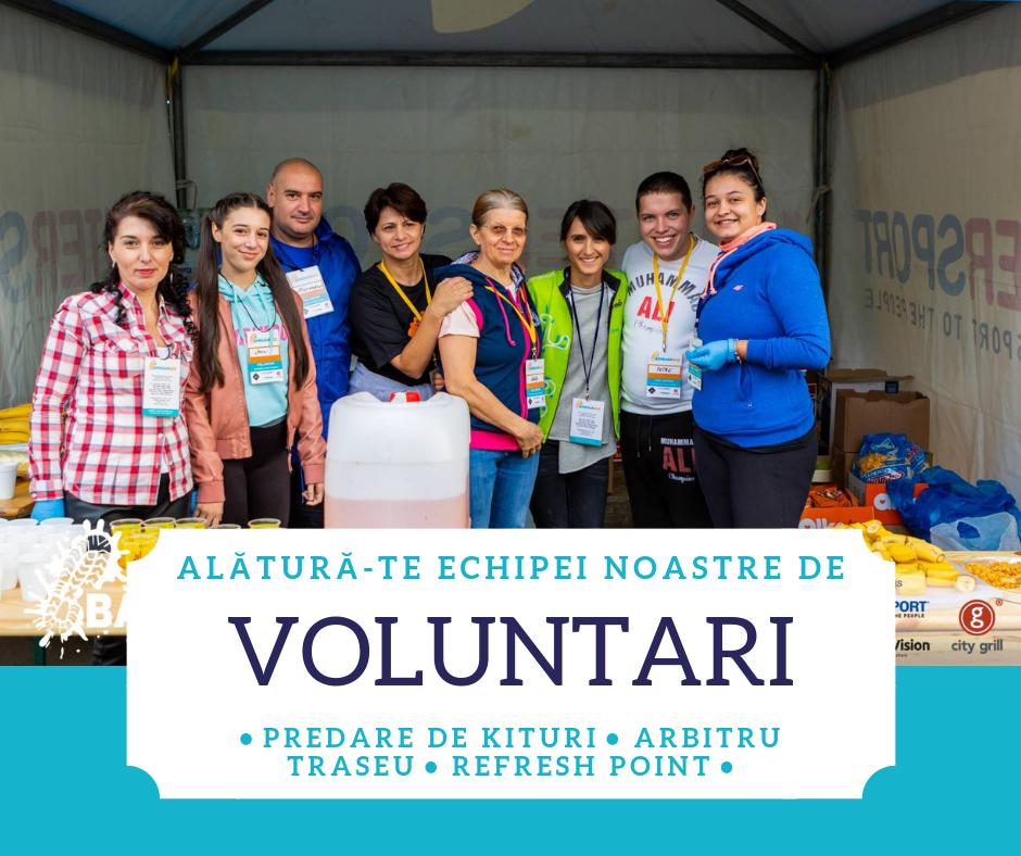 Baneasa Race - voluntari