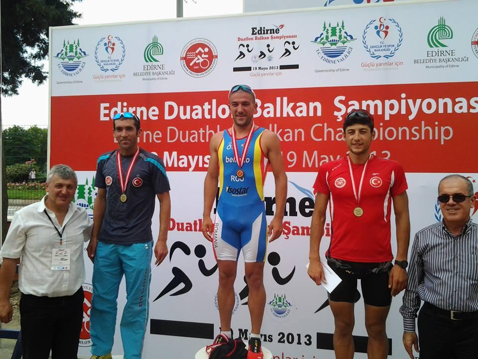 Ciprian Balanescu - campion balcanic duatlon