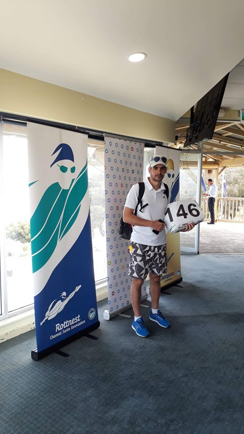 Bogdan Zurbagiu - numar concurs traversare Rottnest