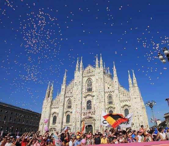 Giro d'Italia 2012, ultima etapa, clasamentul final
