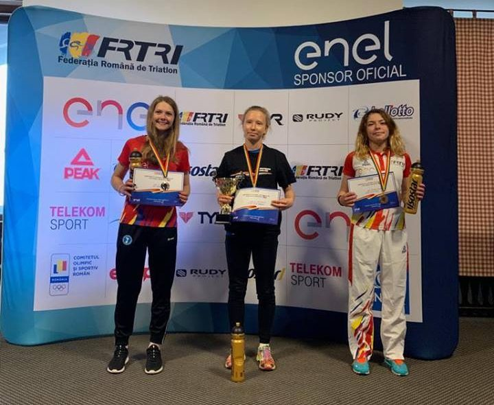 Alice Perjoiu - campioană națională de duatlon 2019