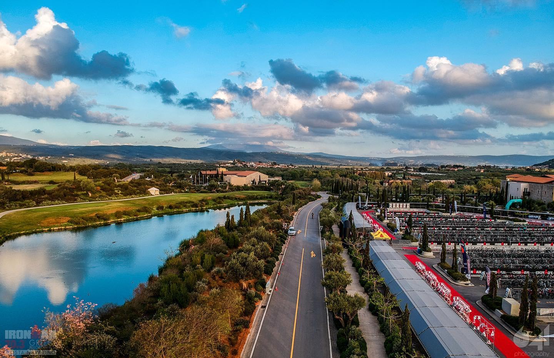 Vedere panoramica Ironman 70.3 Costa Navarino