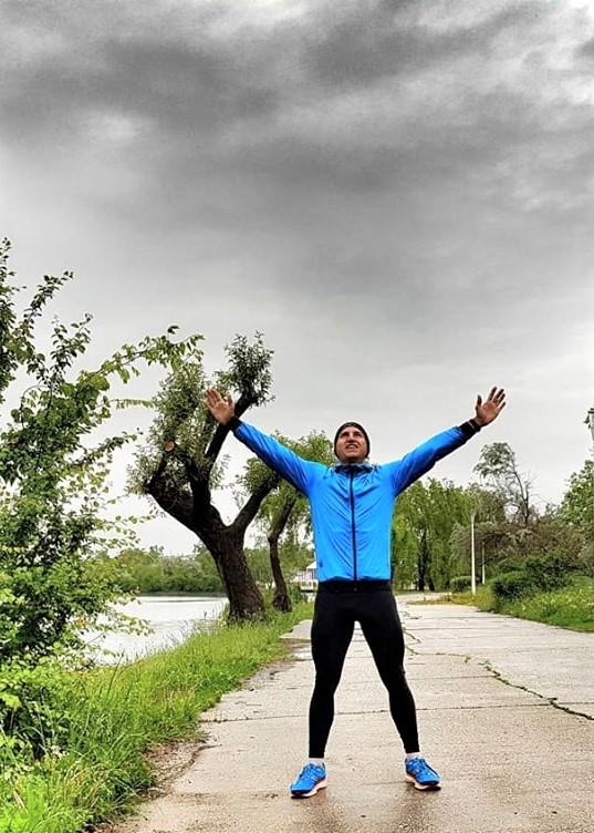Mihai Vigariu - antrenament alergare