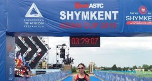 Antoanela Manac - locul 1 cupa continentala Skymkent